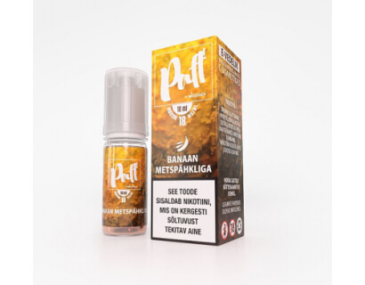 "Banana with hazelnut e-liquid ""PAFF"""