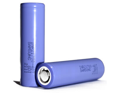 Samsung 4000 mAh 35A 21700 battery cell