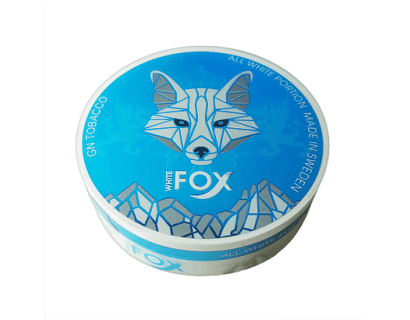 SNUS Nikotiinipadjad <br> White Fox <br> 16mg/g